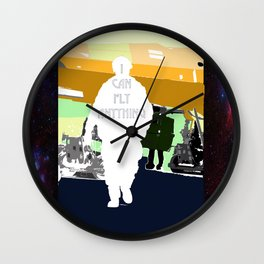 I Can Fly Anything Wall Clock