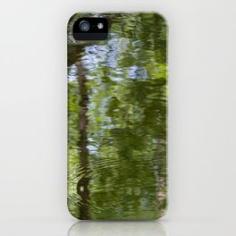 Reflecting Impressionism iPhone Case