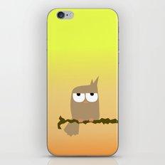 owl on a tree iPhone & iPod Skin