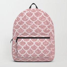 Blush Mermaid Glitter Backpack