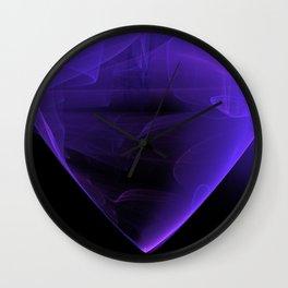 Magic stone - Ultra Violet Wall Clock
