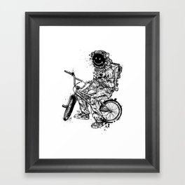 Void in Space (Blk) Framed Art Print