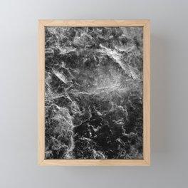 Enigmatic Black Marble #1 #decor #art #society6 Framed Mini Art Print