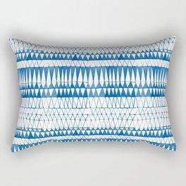Tie Dye Batik Design Rectangular Pillow