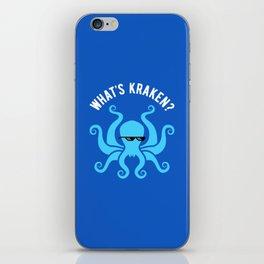 What's Kraken? iPhone Skin