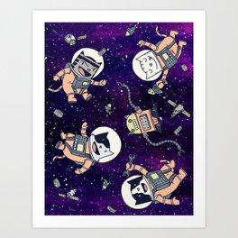 CatStronauts Art Print