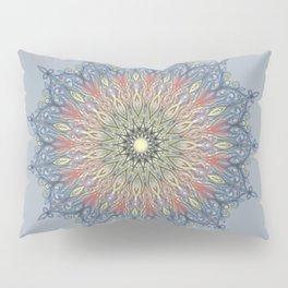 red and black Center Swirl Pillow Sham