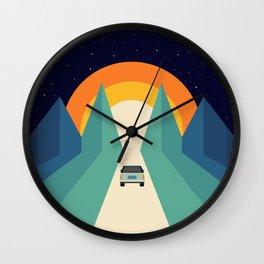 Wonderful Trip Wall Clock