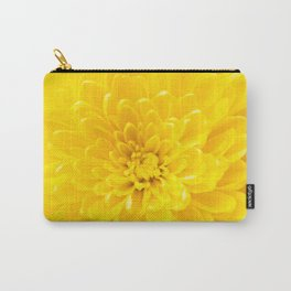 Yellow Dahlia Photography Print Carry-All Pouch