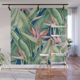 Flowers Birds of Paradise Wall Mural
