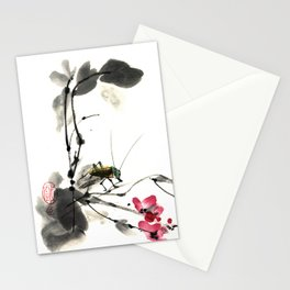 Into paradise Stationery Cards