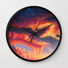 Eternal shining Wall Clock