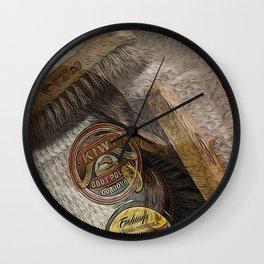 Shoe Shine: A Lost Art Wall Clock