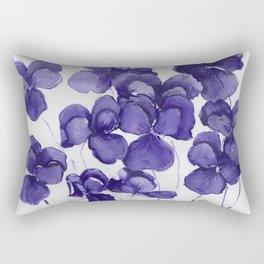 Pansy Party Rectangular Pillow