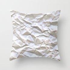 White Trash Throw Pillow