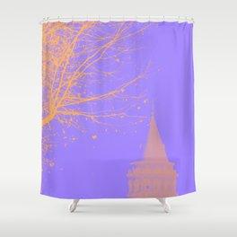 Galata Tower, Istanbul  Shower Curtain
