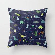 Dante Dinosaur Throw Pillow