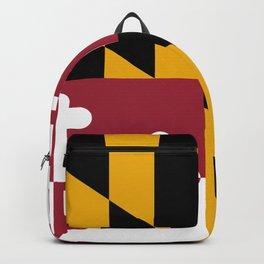 Maryland State Flag Backpack