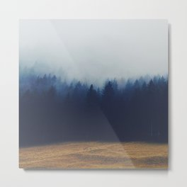 Misty Forest  2 Metal Print