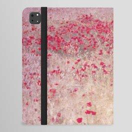 Fields of poppies iPad Folio Case