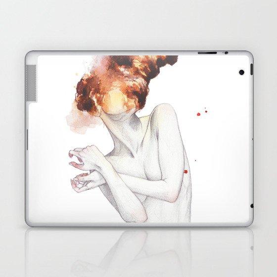 Hot male black girl laptop skin