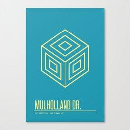 Mulholland Dr. Canvas Print