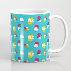 Ice cream pattern - blue Mug