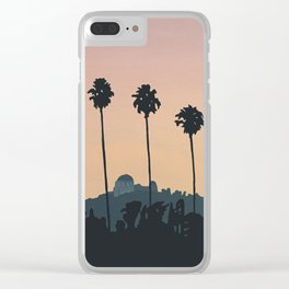 Franklin Avenue Clear iPhone Case