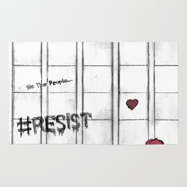 #RESIST the Wall Rug