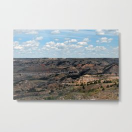 Badlands Metal Print