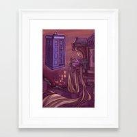 hallion Framed Art Prints featuring You Comin' Blondie?  by Karen Hallion Illustrations