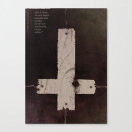 The Death Canvas Print