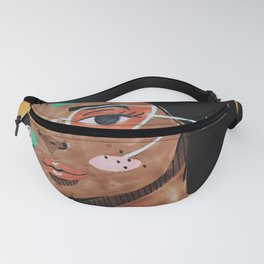 Current fashion girl Fanny Pack