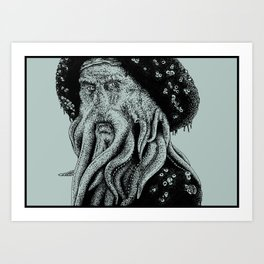 Do You Fear Death? Art Print