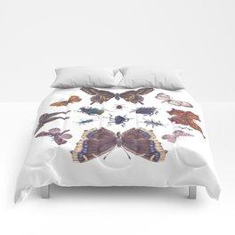 Mosaic of Bugs Comforters