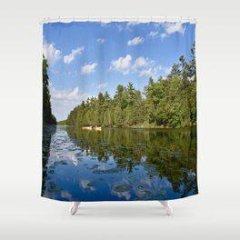 Paddle mates Shower Curtain