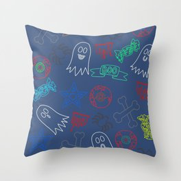 Trick or treat #4 Throw Pillow