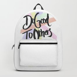 Do Good To Others Backpack