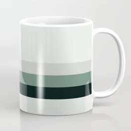 aqua    gray horizon Coffee Mug