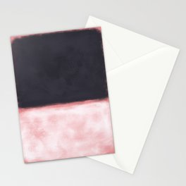 Rothko Inspired #9 Stationery Cards