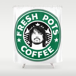 Grohl - Fresh Pots Shower Curtain