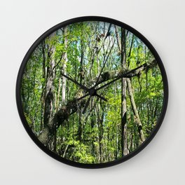 Intentions Derailed Wall Clock