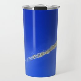 Flash of gold in the sky Travel Mug