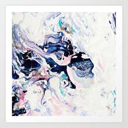 Paint Puddle #07 Art Print