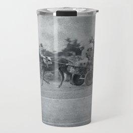 Horse and Cart in Cuba Travel Mug