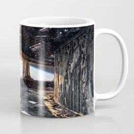 Astronaut in an Abandoned Spaceship Coffee Mug