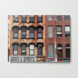 East Village, NYC Metal Print