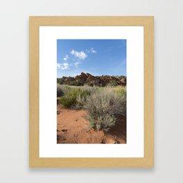 Wire Pass to Buckskin Gulch Framed Art Print