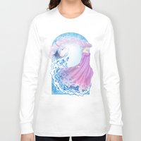 the last unicorn Long Sleeve T-shirts featuring Last Unicorn by Roots-Love