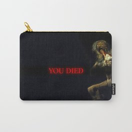 You Died Dark Soul Carry-All Pouch